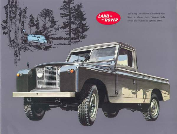 land rover series 2 and 2a models and specs. Black Bedroom Furniture Sets. Home Design Ideas