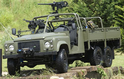 Land Rover Defender 6x6 and 6x4 Military