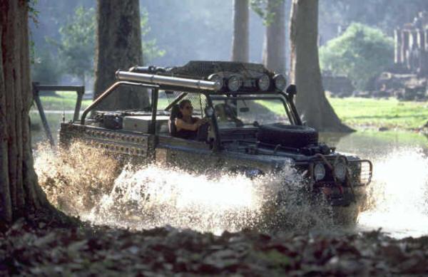 Tomb Raider Land Rover Defender