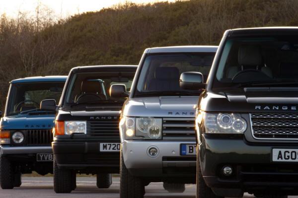 Range Rover Autobiography 2010 >> Range Rover History 1970 - 2013