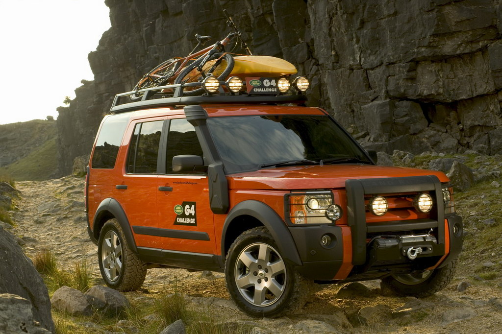 Top Land Rover Discovery 3 VU02