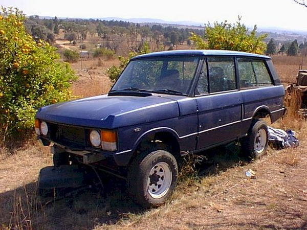 GMC 6 2 Diesel V8 engine conversion in Range Rover