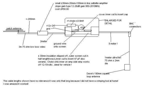 GPS Antenna Amplifier Extension - DIY Homemade on